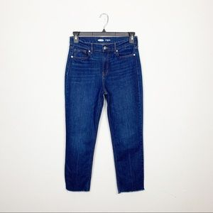 "Old Navy ""The Power Jean"" Staight Ankle Jeans Sz 8"